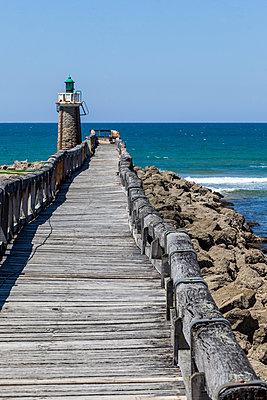 Old beacon at Cap Breton, France - p778m2037562 by Denis Dalmasso