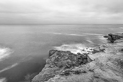Sunset Cliffs Natural Park. San Diego, California, USA. - p1436m2020737 by Joseph S. Giacalone
