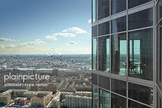 Blick über Moskau - p3900404 von Frank Herfort