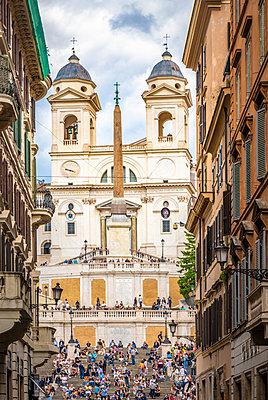 Rome, Spanish steps - p1275m2100029 by cgimanufaktur