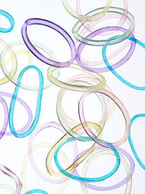 Gummiringe - p401m1000240 von Frank Baquet