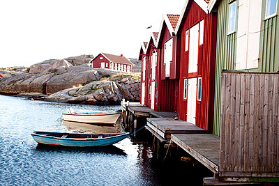 Boathouses - p9070011 by Anna Fritsch