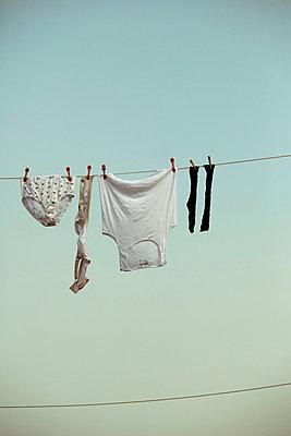 Wäsche trocknen - p432m854496 von mia takahara