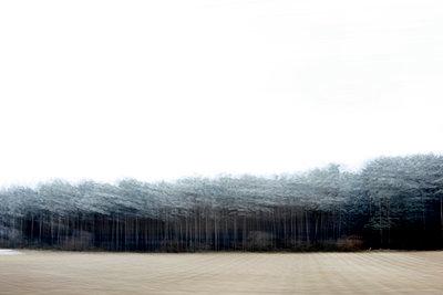 Blick aus dem Autofenster - p1258m1538790 von Peter Hamel