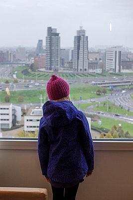 View over Rotterdam - p228m965693 by photocake.de