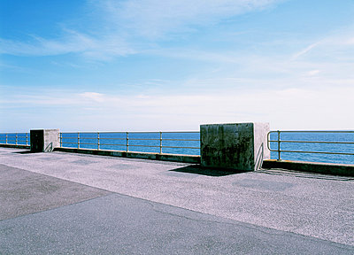 Sea and promenade, Seaford, East Sussex, England, UK - p92412069 by Tacit