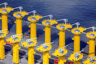 Foundation for offshore power plant - p1016m924090 by Jochen Knobloch