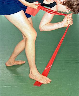 Gymnastikübung - p7810031 von Angela Franke