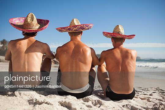 Männerurlaub - p045m1441326 von Jasmin Sander