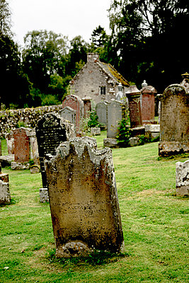 Old graveyard - p445m931941 by Marie Docher