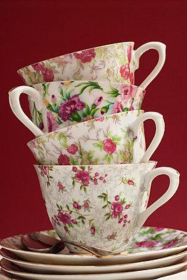 Vier Kaffeetassen - p8370012 von Cornelia Hediger