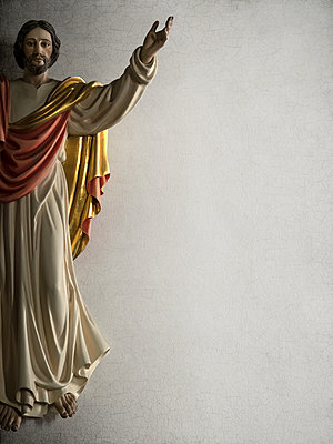 Statue of Jesus  - p1280m2195449 by Dave Wall