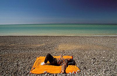 Tiefenentspannung am Strand - p2200303 von Kai Jabs