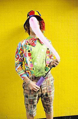 Clown  - p0450951 von Jasmin Sander
