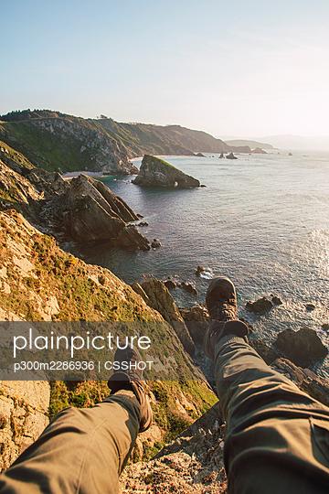 Costa Xuncos, Galicia, Spain - p300m2286936 von CSSHOT