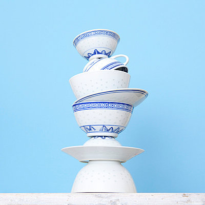 Chinese bowls - p4410432 by Maria Dorner