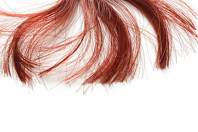 Red wisp of hair - p4500434 by Hanka Steidle