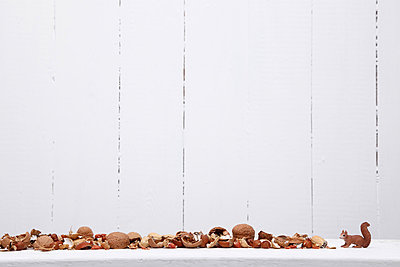 Nussschalen - p237m855872 von Thordis Rüggeberg
