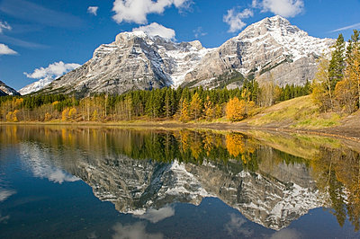 Mount Kidd, Kananaskis, Alberta, Canada - p4428507f by Design Pics