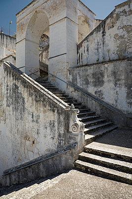 Treppe zur Kirche Madonna della Scala - p1032m1466367 von Fuercho