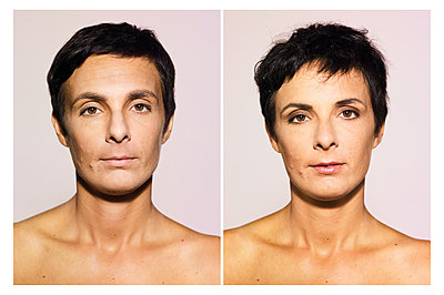 Portrait photograph, Transgender - p1462m1538489 by Massimo Giovannini