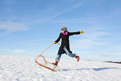 Spaß im Winter - p4541188 von Lubitz + Dorner