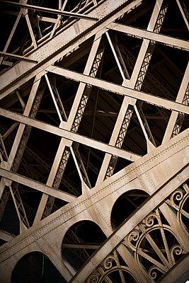 Close-Up Detail, Eiffel Tower, Paris, France - p694m756810 by Jeff Zaruba
