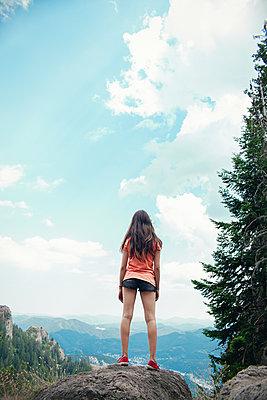 Girl in the mountains - p1432m2273298 by Svetlana Bekyarova