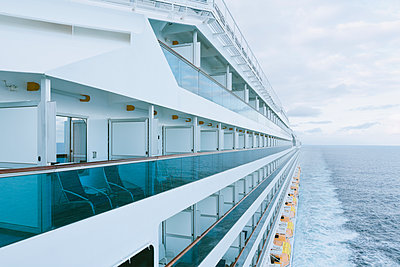 On board of a cruise ship, Mediterranean Sea - p300m1141021 by Merle M.