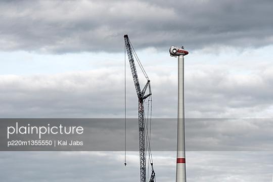 Konstruktion eines Windrades - p220m1355550 von Kai Jabs