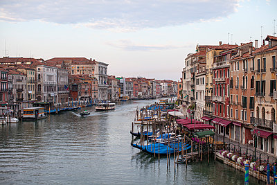 Grand Canal at dusk - p1059m918678 by Philipp Reiss