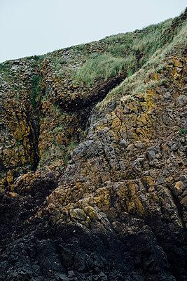 Beach Cliff - p1262m1440870 by Maryanne Gobble