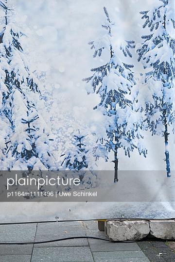 Schnee-Plane - p1164m1111496 von Uwe Schinkel