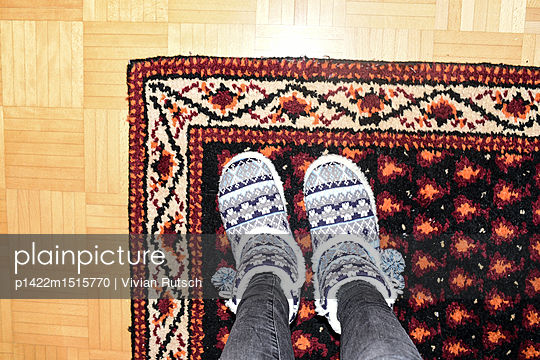 Winterliche Musterkombination - p1422m1515770 von Vivian Rutsch