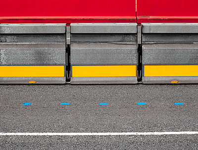 Abstract road markings - p1280m1477448 by Dave Wall