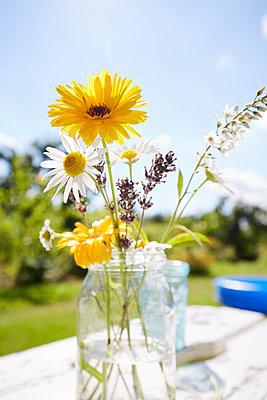 Gartenblumen - p464m1176790 von Elektrons 08