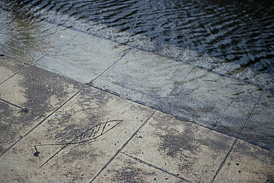 Paving stone - p6530077 by Alain Astruc