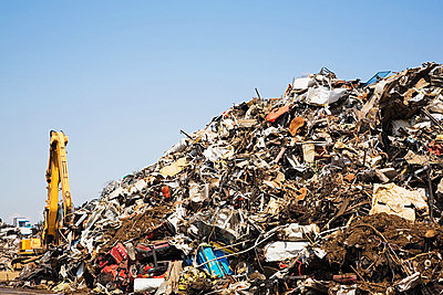 Scrap heap - p9243856f by Image Source