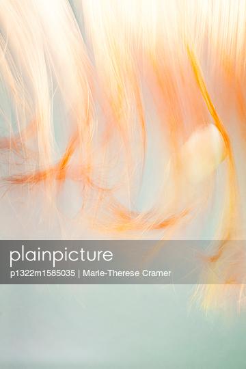 Mystische Malerei und Lichterspiel in Orange - p1322m1585035 von Marie-Therese Cramer