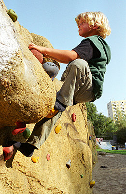 An der Kletterwand - p2190003 von Carsten Büll
