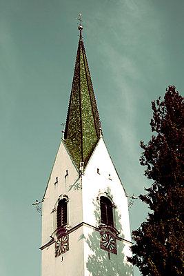 Church tower - p432m702587 by mia takahara