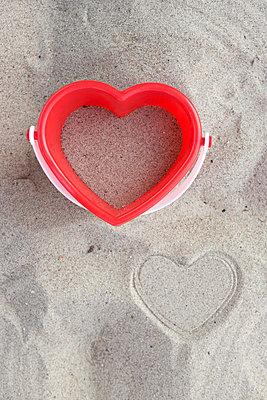 I love Strandurlaub - p454m1056203 von Lubitz + Dorner
