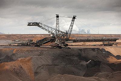 Dredge and coal mining - p7980042 by Florian Loebermann