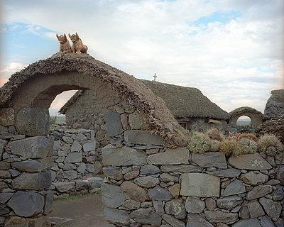 Grabstätte Sillustani Archäologische Fundstätte - p945m1476405 von aurelia frey
