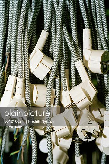 Electric plugs.
