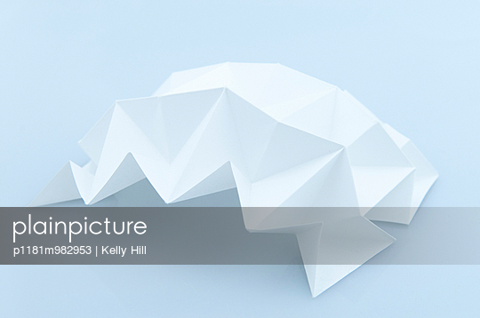 Paper Origami - p1181m982953 by Kelly Hill