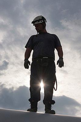 Arbeiter - p1079m885262 von Ulrich Mertens