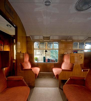 British Rail passenger carriage 1950   - p4427424f by Design Pics
