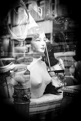 Shop window - p1245m1043386 by Catherine Minala