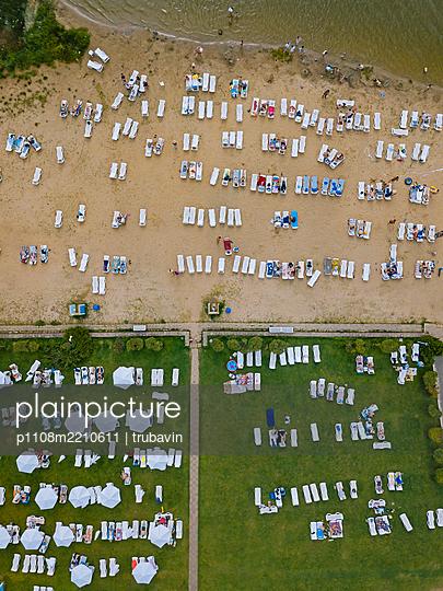 Russia, Sunbathing area and beach - p1108m2210611 by trubavin